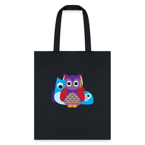 Cute Owls Eyes - Tote Bag