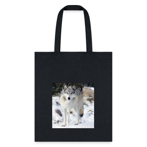 Canis lupus occidentalis - Tote Bag