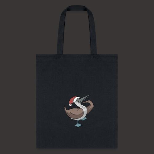 Boobie Bird Xmas Dance - Tote Bag