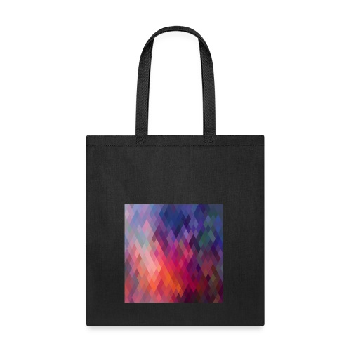 pattern of geometric shapes z15nM6qu L - Tote Bag