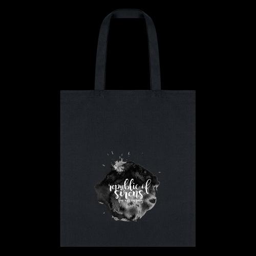 ROS FINE ARTS COMPANY - Black Aqua - Tote Bag