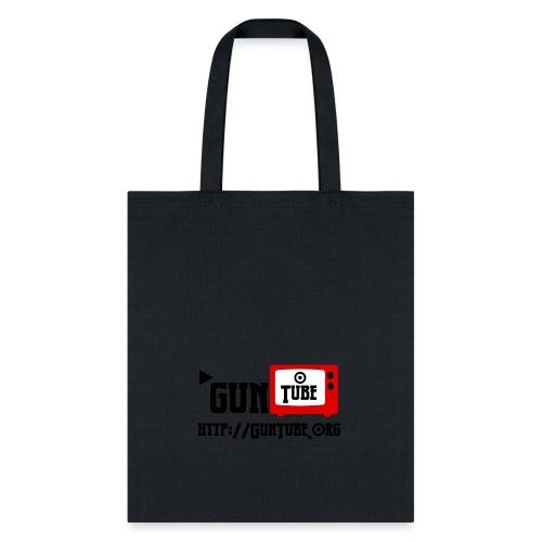 GunTube Shirt with URL - Tote Bag