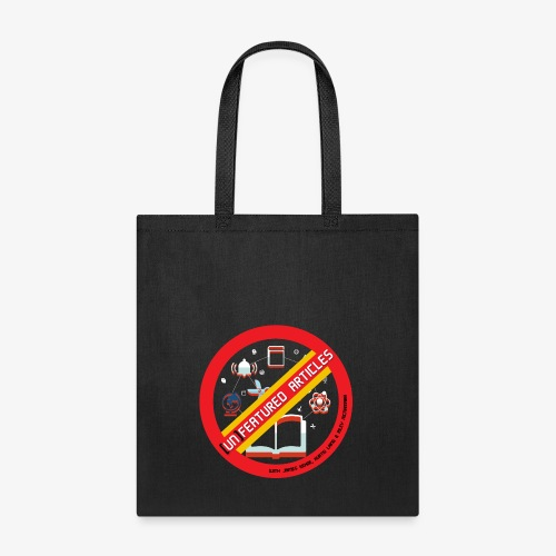 unFeatured Articles Logo - Tote Bag
