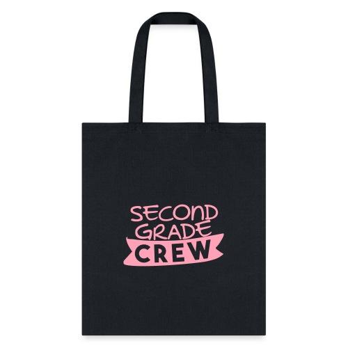Second Grade Crew Teacher T-shirts - Tote Bag