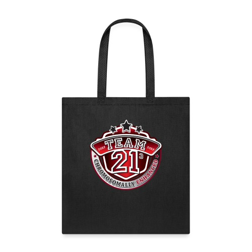 Team 21 - Chromosomally Enhanced (Red) - Tote Bag