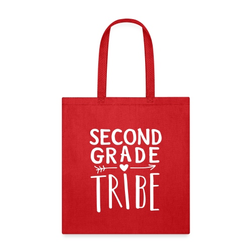 Second Grade Tribe Teacher Team T-shirts - Tote Bag