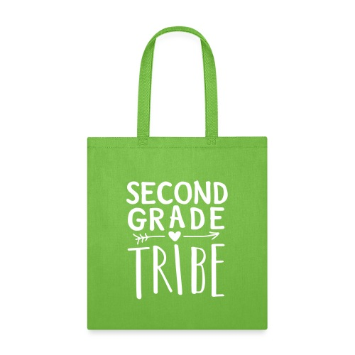 Second Grade Tribe Teacher Team T-shirts - Tote Bag