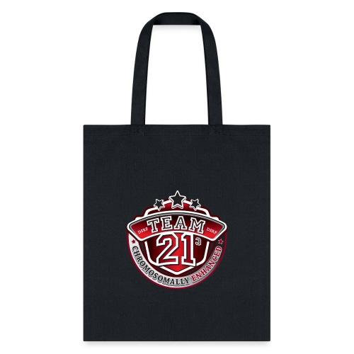 Team 21 - Chromosomally Enhanced (Red) - Tote Bag