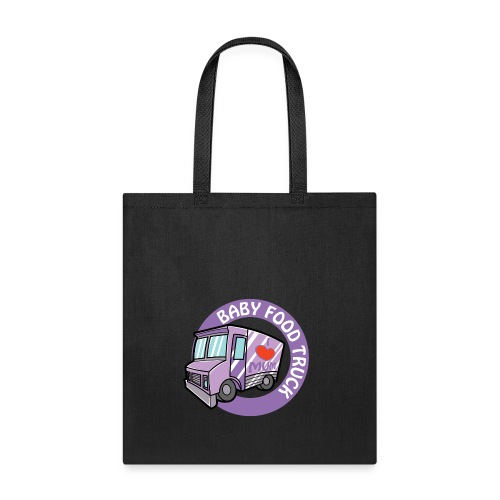 Purple baby food truck - Tote Bag