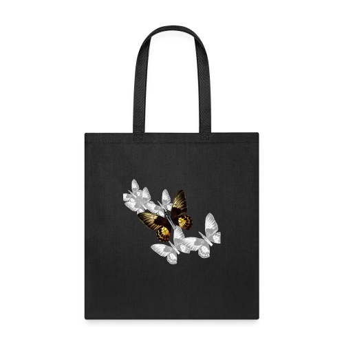 Bullet With Butterfly Wings In Flight. - Tote Bag