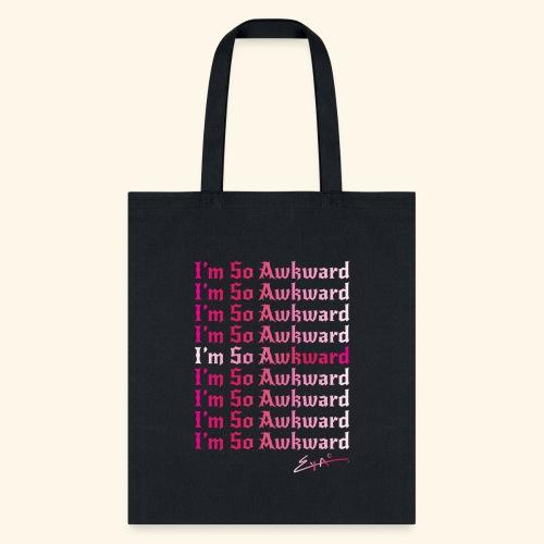 I'm So Awkward - Women's multi-logo - Tote Bag