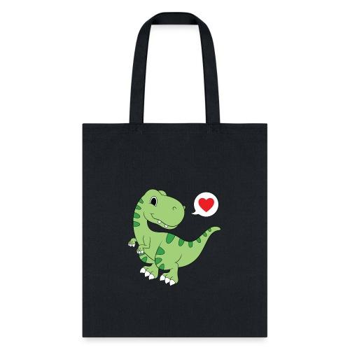 Dinosaur Love - Tote Bag