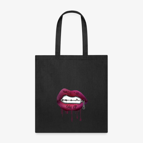 women mouth - Tote Bag