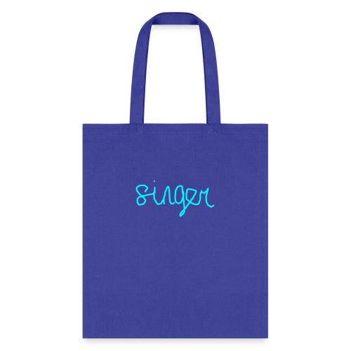 SINGER - Tote Bag
