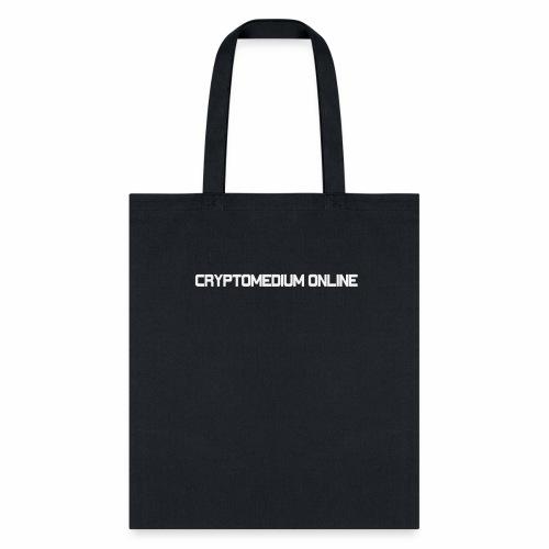 cryptomedium logo light - Tote Bag