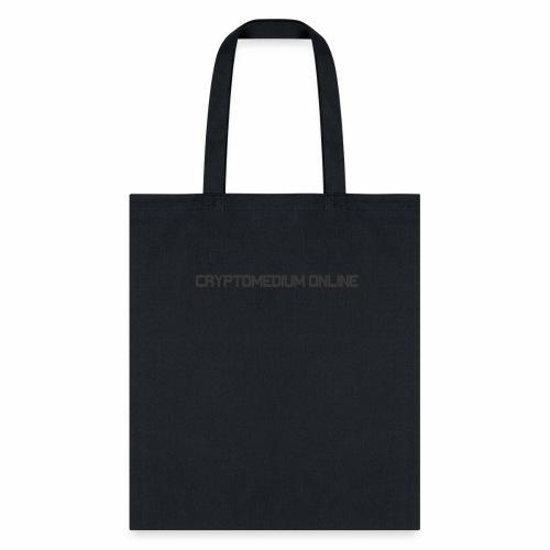 Cryptomedium logo dark - Tote Bag