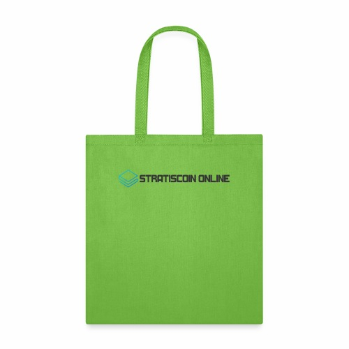 stratiscoin online dark - Tote Bag