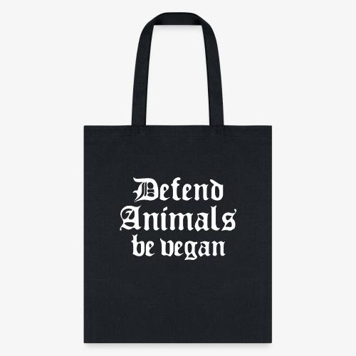 Defend Animals - Tote Bag