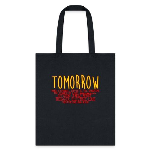 Tomorrow Album Design - Tote Bag