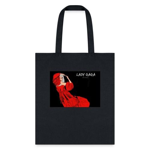 Celebrity Portrait by Sinn Designs - Tote Bag