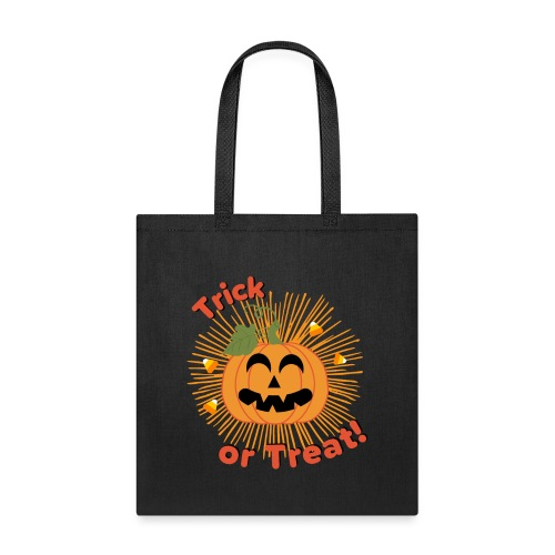 Halloween Trick Or Treat Jack-O-Lantern Pumpkin - Tote Bag
