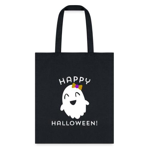 Happy Halloween Ghost Design - Cute Halloween - Tote Bag