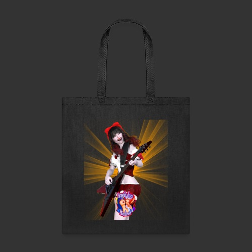 Happily Ever Undead: Crimson Snow Guitarist - Tote Bag