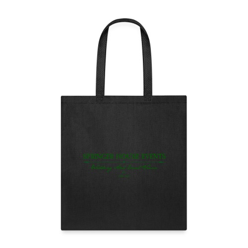 Springer House Events Sign Green - Tote Bag