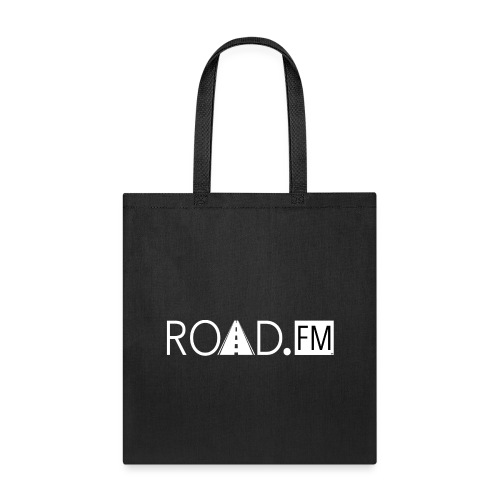 Road FM White Logo Front & Back - Tote Bag