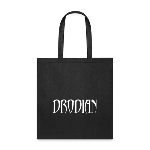 CLASSIC DRODIAN (WHITE LETTERS) - Tote Bag