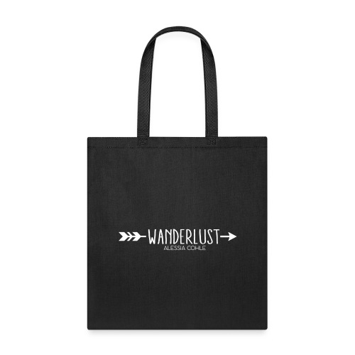 Wanderlust (white logo) - Tote Bag