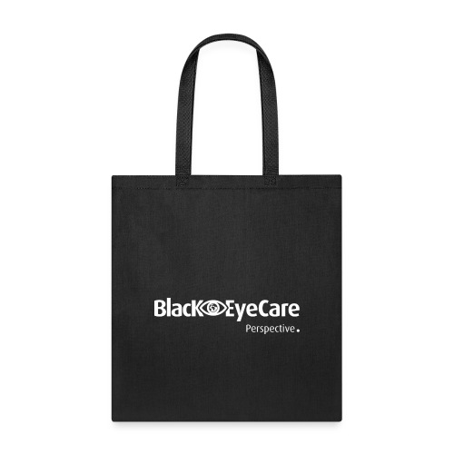 02 BlackEYeCareLogo Transparent 2 - Tote Bag