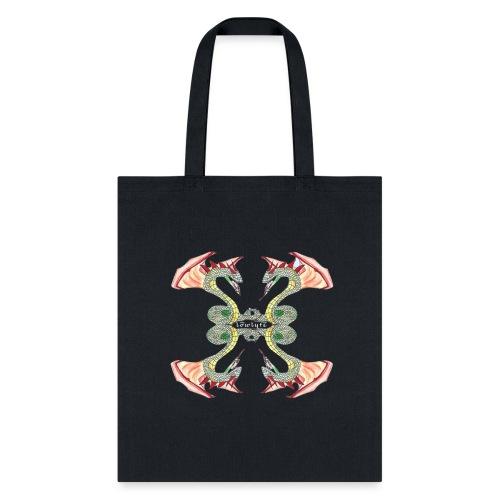 Lowlyfe Logo w/ Centered Text - Tote Bag