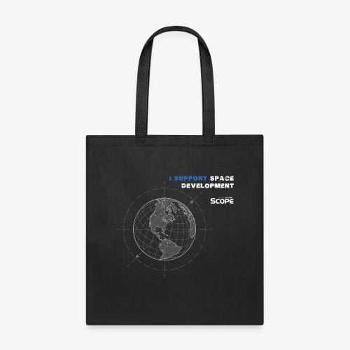 Solar System Scope : I Support Space Development - Tote Bag