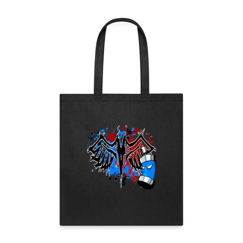 Graffitied Angel - Tote Bag