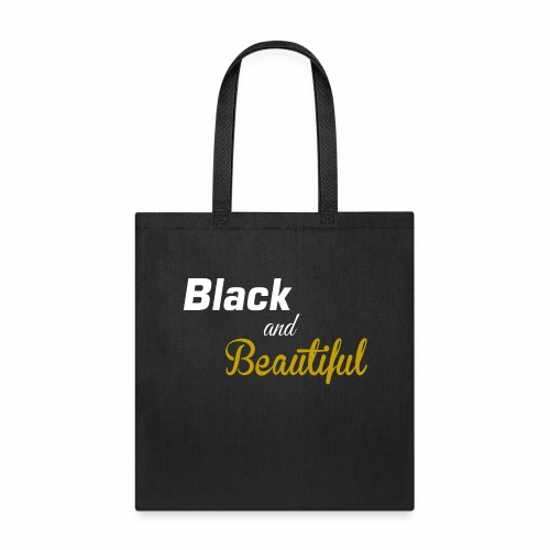 Black & Beautiful Long Sleeve Shirt - Tote Bag