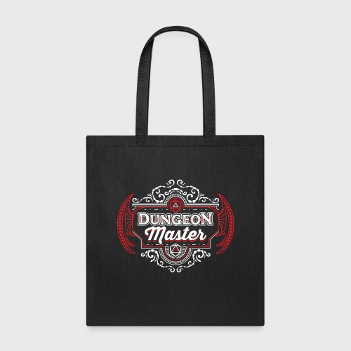 dungeon master filigree fantasy gift d20 shirt - Tote Bag