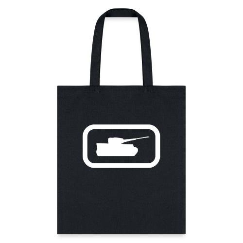 Tank Logo (White) - Axis & Allies - Tote Bag