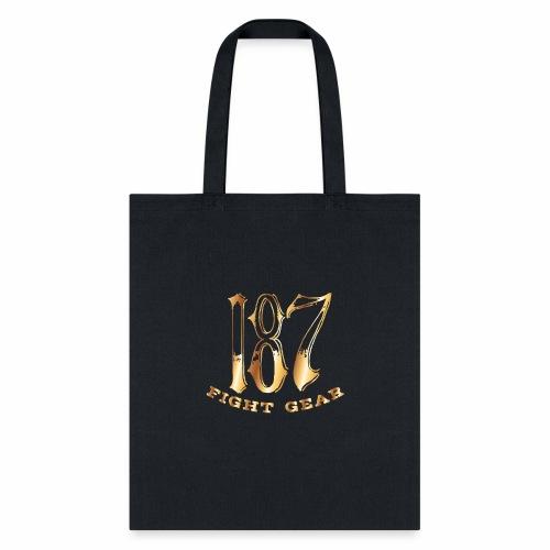 187 Fight Gear Gold Logo Sports Gear - Tote Bag