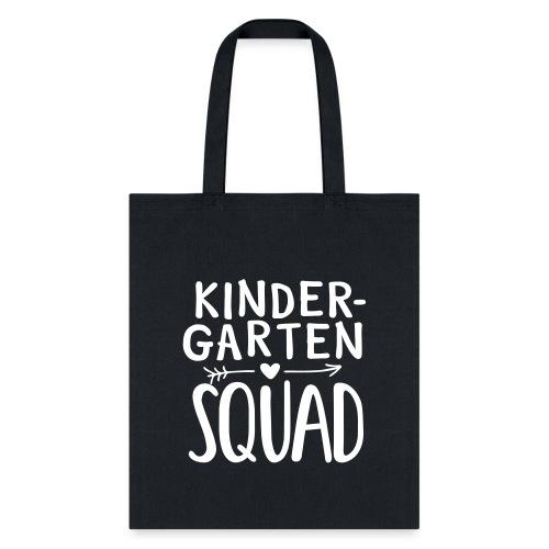 Kindergarten Squad Teacher Team T-Shirts - Tote Bag