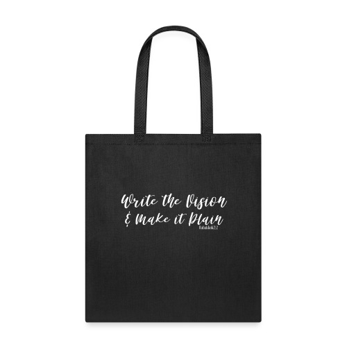 WRITE THE VISION AND MAKE IT PLAIN-SHELLY SHELTON - Tote Bag