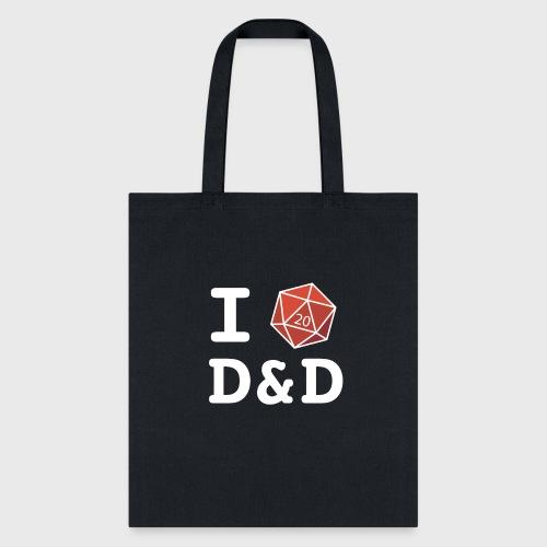 I DICE D&D - Tote Bag