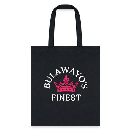 Bulawayo's Finest Pink Crown - Tote Bag