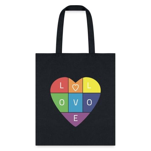 Rainbow Heart - Tote Bag