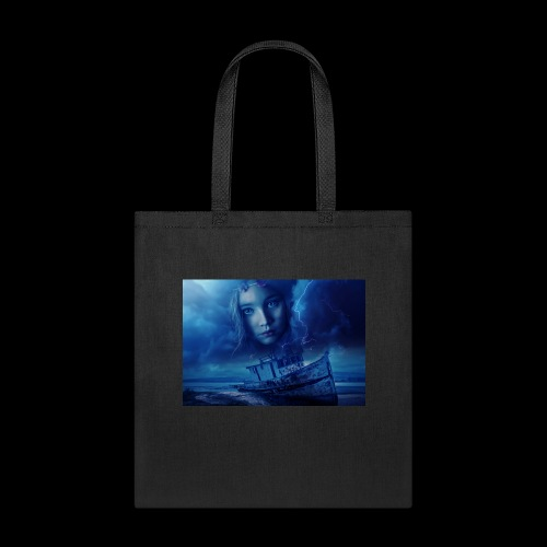 Stormy Night, Child Lost At Sea - Tote Bag