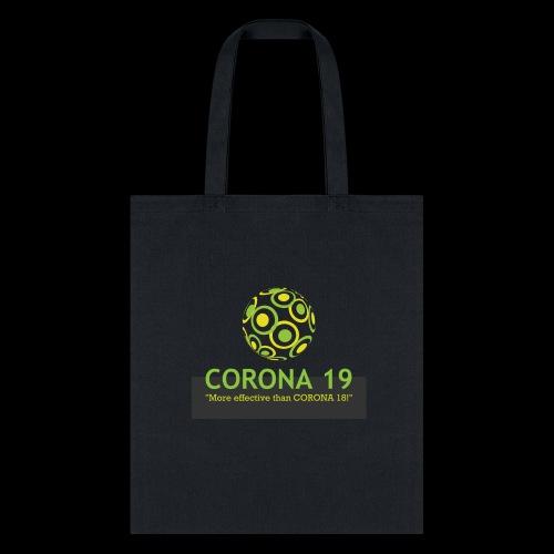 CORONA VIRUS 19 - Tote Bag