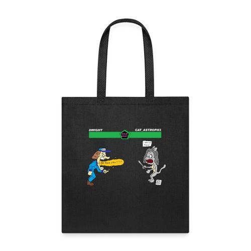 catcutter vs dwight - Tote Bag