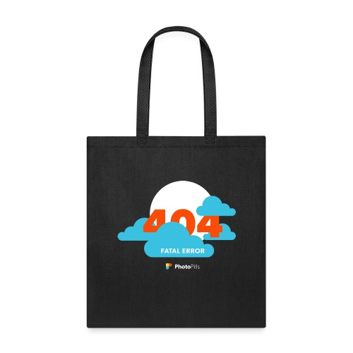404 Fatal Error Moon Not Found - Tote Bag