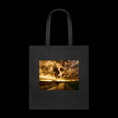 Horror Skull In The Valley - Tote Bag