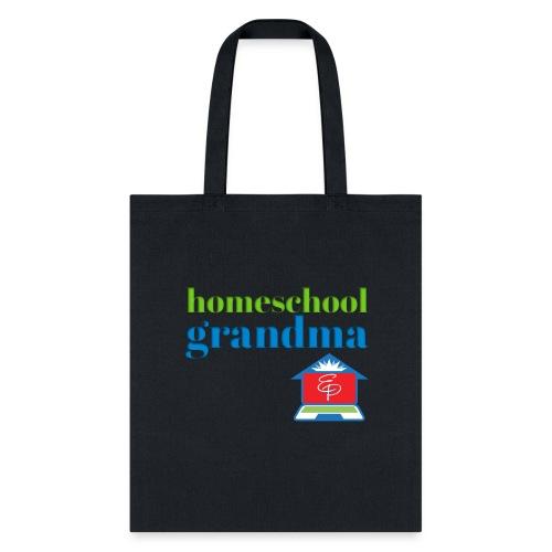Homeschool Grandma - Tote Bag